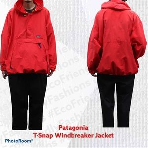 Vintage Patagonia Anorak T-SnapWindbreaker Jacket